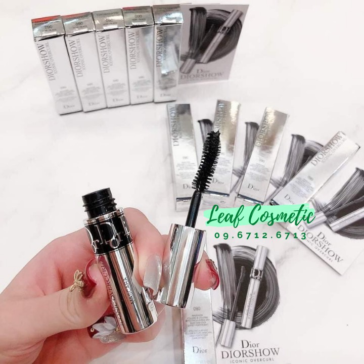 [ Mini 4ml ] Mascara Dior Diorshow Iconic Overcurl
