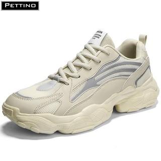 Giày phản quang nam, giày nam đế cao, vạch phản quang, năng động, dễ phối đồ PETTINO-TS03