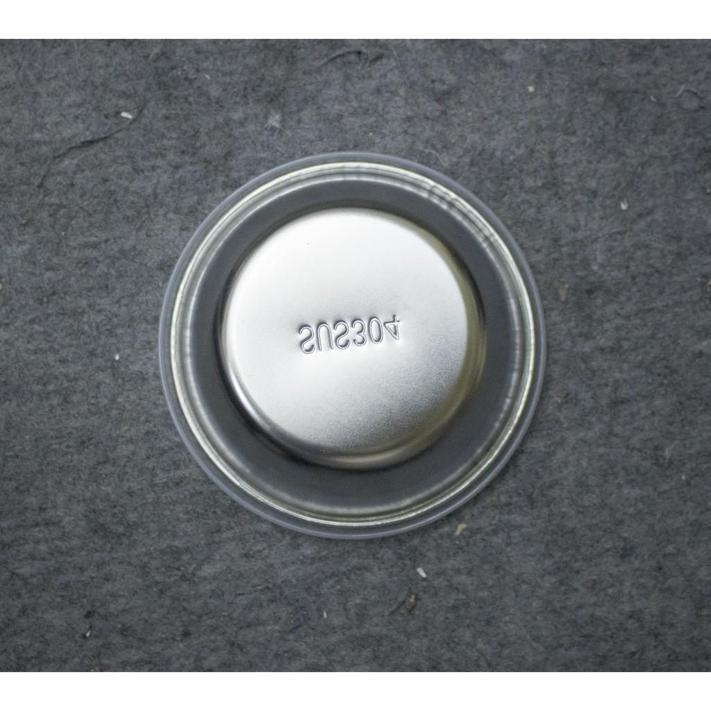 Bát inox 304 mạ điện có nắp chống tràn cao cấp