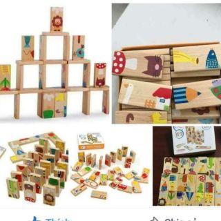 Bộ Domino gỗ