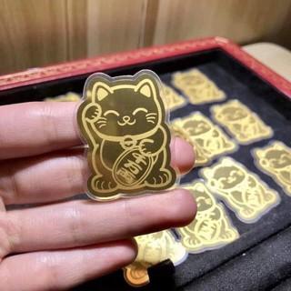 Mèo mạ vàng may mắn, cầu tài 1
