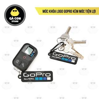 [Rẻ vô địch] Móc khóa Logo GoPro kèm móc tiện lợi thumbnail
