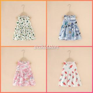 Đầm bé gái thoáng mát nhiều họa tiết CTF103 - Màu: Nhiều họa tiết