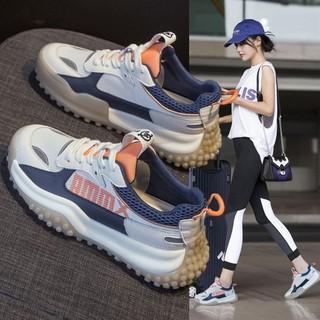 Giày Nữ Mùa Hè Mỏng Giày Lưới Thoáng Khí Nữ Mới2021Mô Hình Vụ Nổ Thường Giày Thể ThaoinsHoang Dã thumbnail