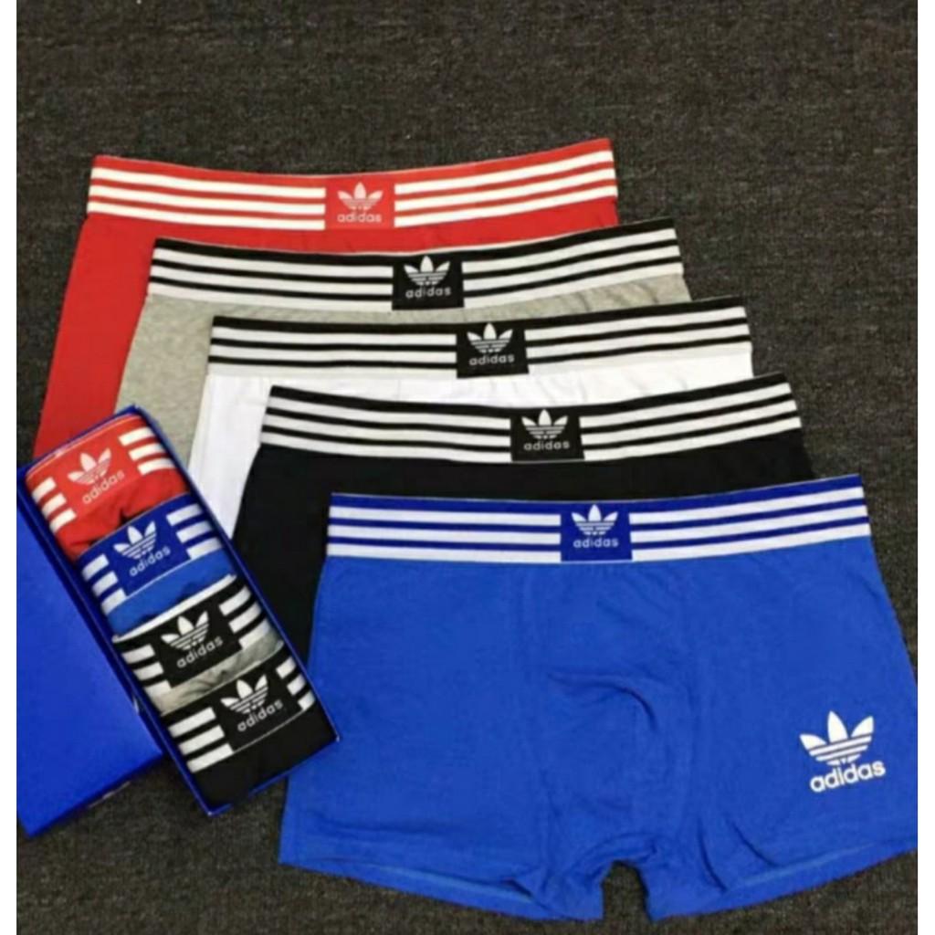 [Sale 70% cho 50 khách đầu tiên] Bộ 1, 3, 5 quần lót sịp đùi nam thương hiệu Adidas