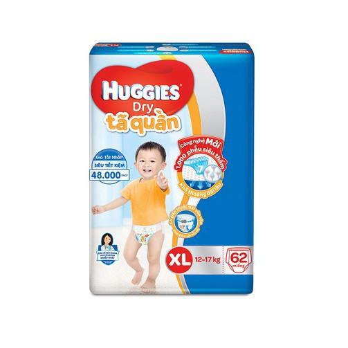 Bỉm Huggies quần XL62 TA102