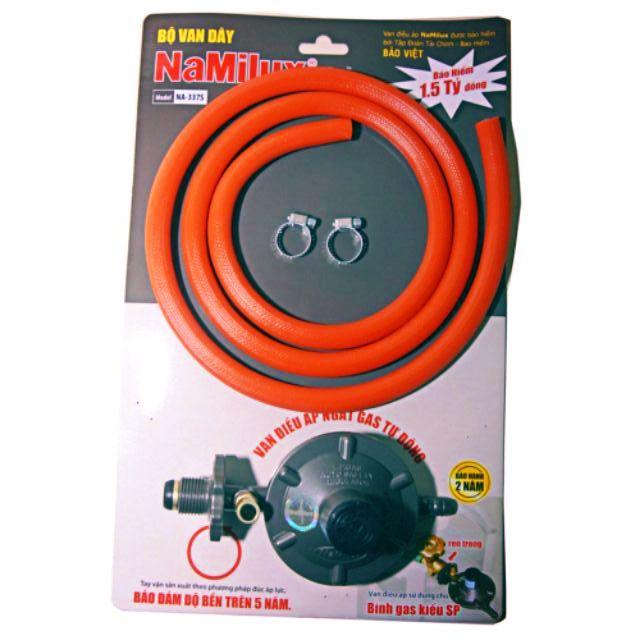 Bộ van và dây dẫn gas Namilux