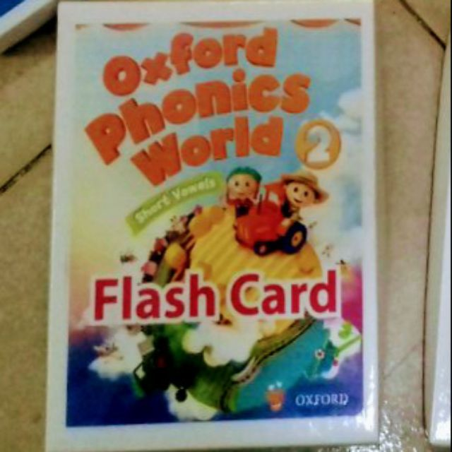 Flashcard Phonics World 2
