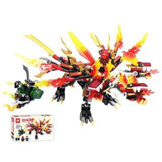 Bộ Lego Ninja rồng 380 chi tiết (kèm hình ảnh thật)