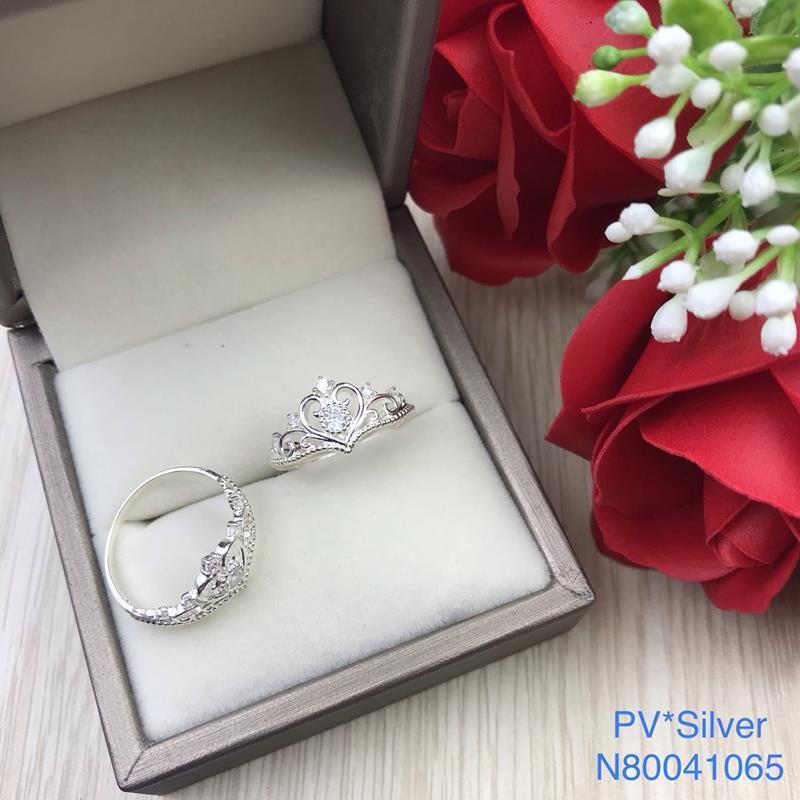 Nhẫn bạc nữ đẹp độc lạ HCM N80041065