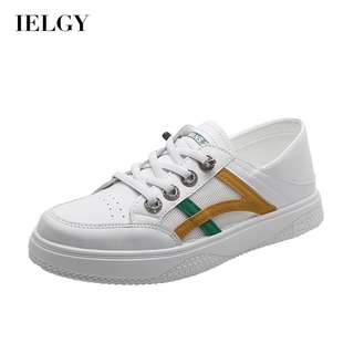 IELGY small white shoes women's breathable casual women's shoes striped sneakers