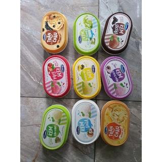 sữa kem vinamilk các loại khoai môn/ đậu xanh/ trân châu hoàng kim/ cốm / dừa/ dâu