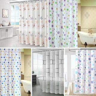 Rèm Nhà Tắm Không Thấm Nước Decor Trang Trí Nhà Cửa