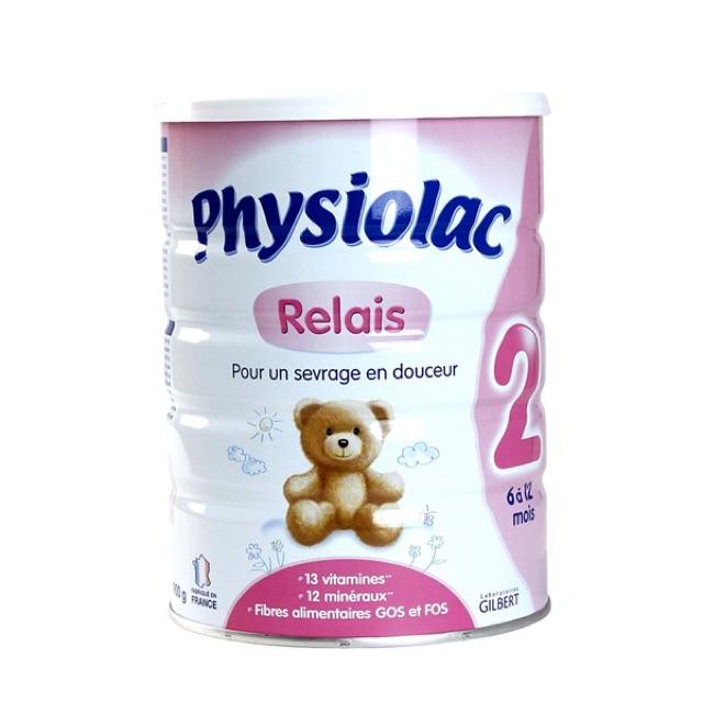 NHẬP TKBSHOP3 GIẢM 4% ( DATE 2020) Sữa Physiolac số 2- 900g