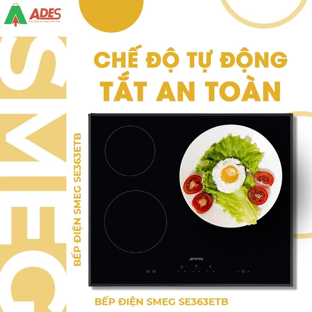 Bếp Điện Smeg SE363ETB - Bảo Hành Chính Hãng