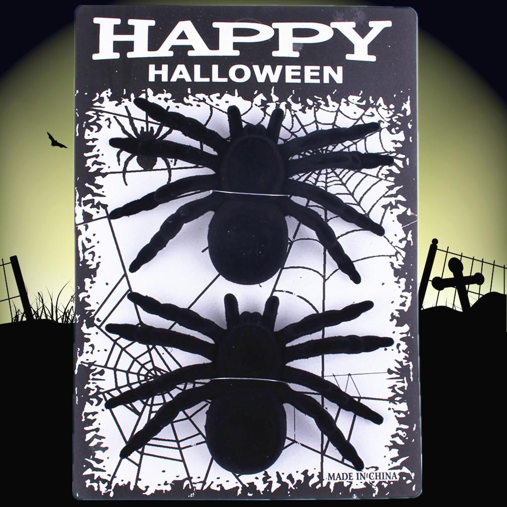 Tao Tao 54g Halloween April Fool's Day Ghost Festival Bar Haunted House Arrangement Props Supplies Animals Flocking Spid