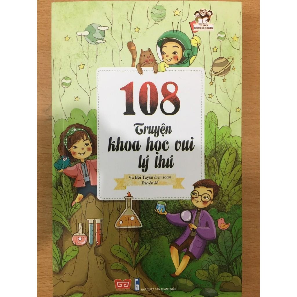 Sách - 108 Truyện Khoa Học Vui Lý Thú - 50k