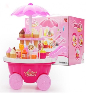 Bộ đồ chơi xe kem cho bé