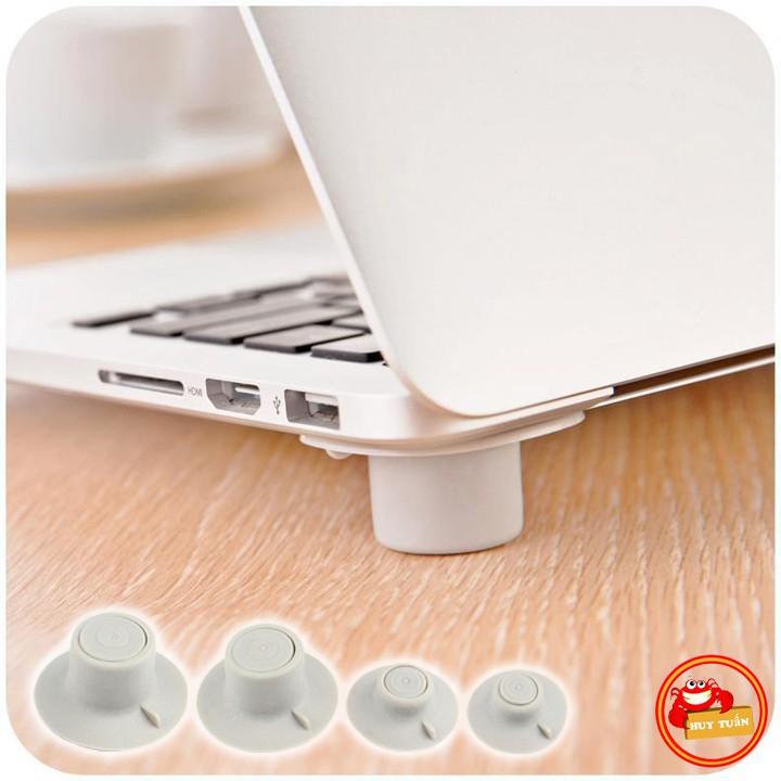SET 4 chân kê tản nhiệt laptop bằng silicon tản nhiệt rất tổt (CKL04)