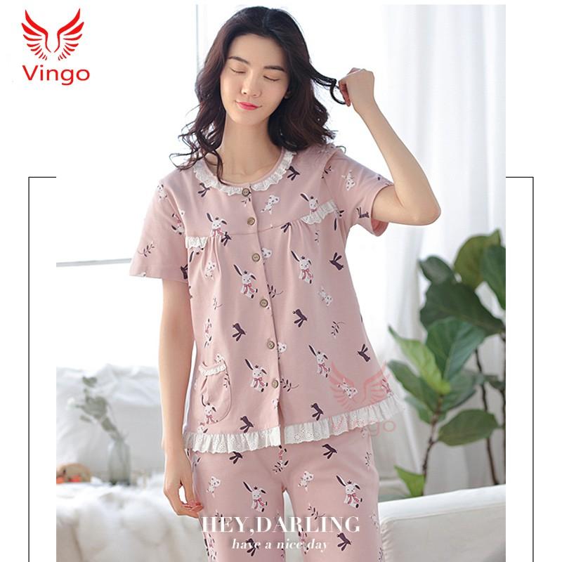 Đồ ngủ cotton cao cấp thương hiệu Vingo - 3332061 , 1167105543 , 322_1167105543 , 350000 , Do-ngu-cotton-cao-cap-thuong-hieu-Vingo-322_1167105543 , shopee.vn , Đồ ngủ cotton cao cấp thương hiệu Vingo