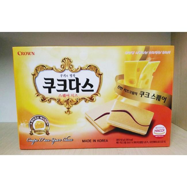 Bánh crown Hàn Quốc vị Phô mai loại to 288g - 2932991 , 709309183 , 322_709309183 , 45000 , Banh-crown-Han-Quoc-vi-Pho-mai-loai-to-288g-322_709309183 , shopee.vn , Bánh crown Hàn Quốc vị Phô mai loại to 288g