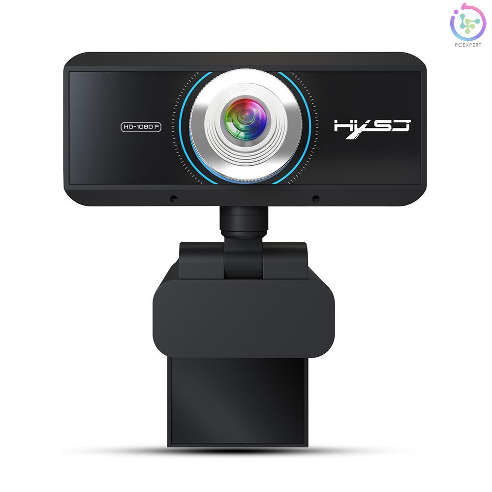 Webcam Hxsj S4 Hd 1080p Tích Hợp Micro Hỗ Trợ Gọi Video Cho Pc Laptop