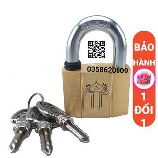 Ổ Khóa Cao Cấp Size 60mm và size 50mm Đồng Nguyên Khối Loại ổ khóa tiện dụng Bóp Chống Nước