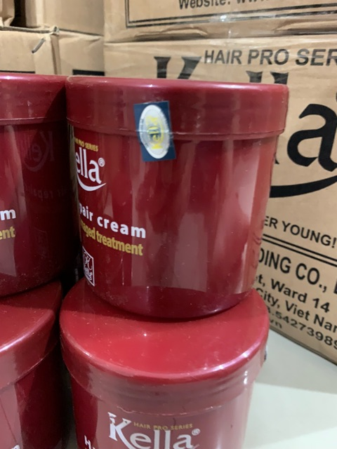 Dầu hấp Kella suôn mềm đỏ chữ vàng tóc hư tổn 500ml FREESHIPdưỡng chất Collagen giúp tóc chắc khỏe,suôn mượt [tận gốc]