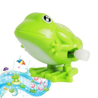 PentagonPentagon Kids Wind Up Clockwork Mini Pull Frog Toys Boys Jumping Animal Toys