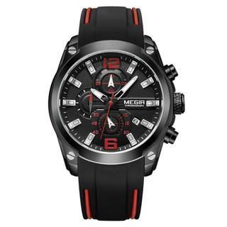 Đồng Hồ Nam Megir KT2063 Black Chính Hãng 2020 NEW Bảo Hành 12 Tháng Top Brand Luxury Hàng Nhập HongKong II Store Reward