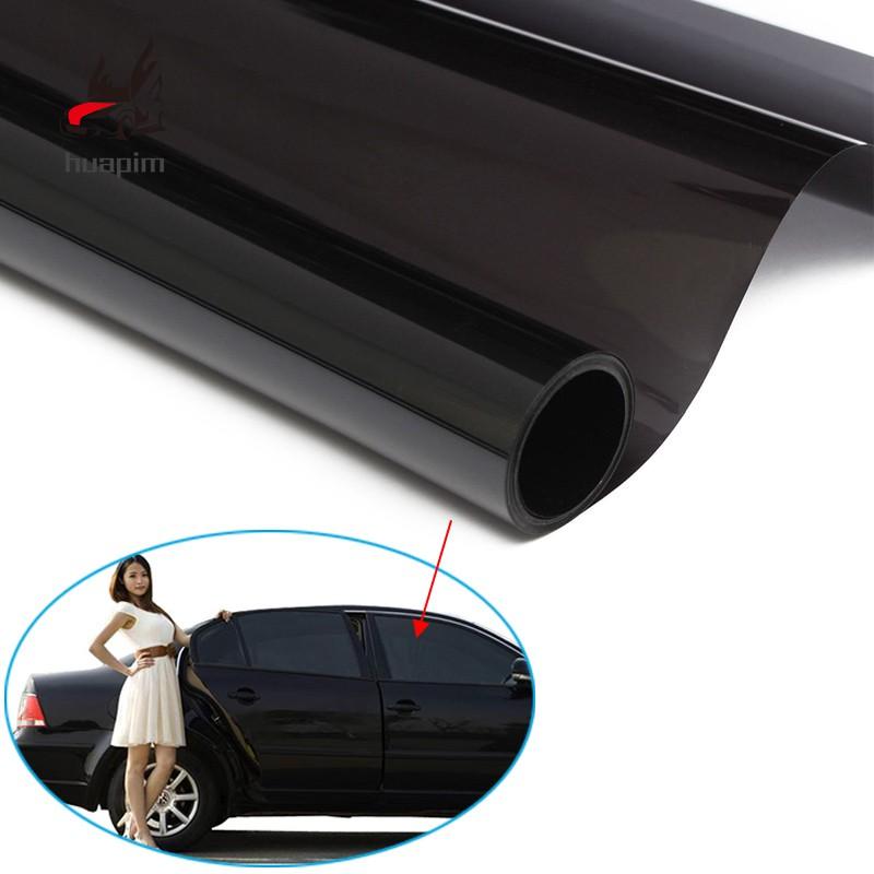 Cars Ultra Limo Black Window Tint Film VLT 1% Auto Car House Roll 50cm*6m