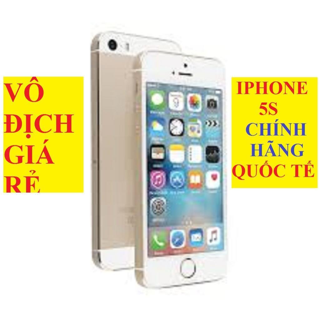 điện thoại Iphone 5S 16G Full Vân tay, máy zin mới KENG