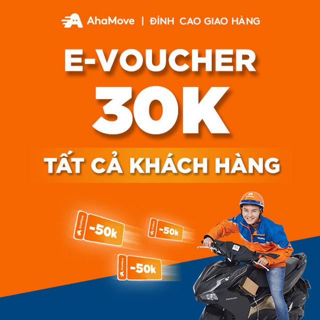 - Ưu đãi 10K cho 3 đơn vận chuyển với AhaMove (TẤT CẢ KHÁCH HÀNG)