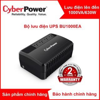 Bộ lưu điện CyberPower BU1000 BU1000E BU1000EA - 1000VA 630W - Chính hãng new 100%(đã có ắc quy) thumbnail