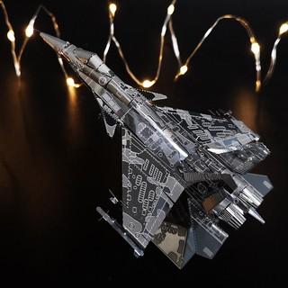 [TF]Mô hình lắp ghép DIY Máy bay chiến đấu F-15 bằng thép