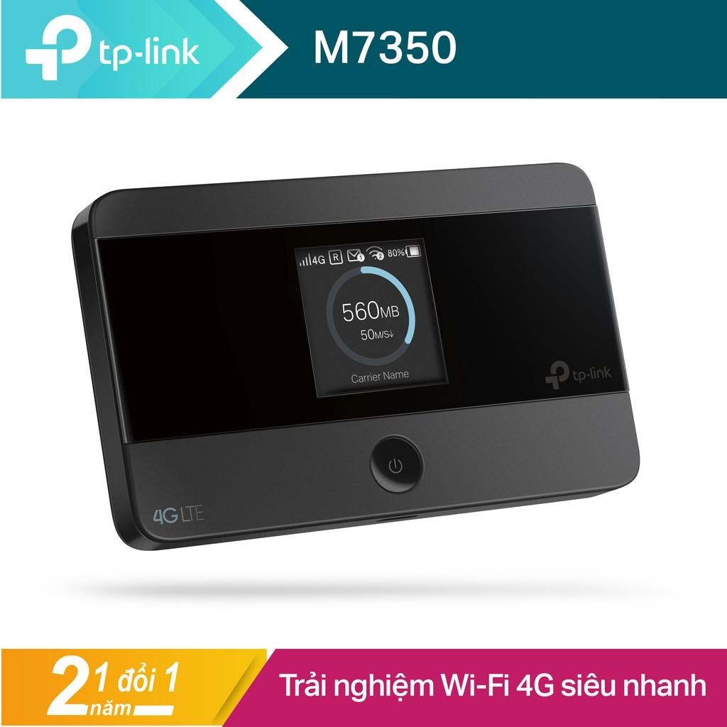 TP-Link bộ phát Wifi di động 4G LTE cho kết nối Wifi siêu nhanh -M7350