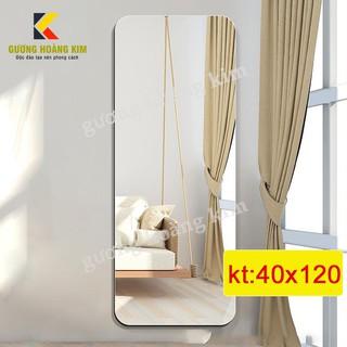 ( Bán Sỉ ) Gương soi toàn thân treo tường cao cấp kích thước 40x120 cm - guonghoangkim Mirror