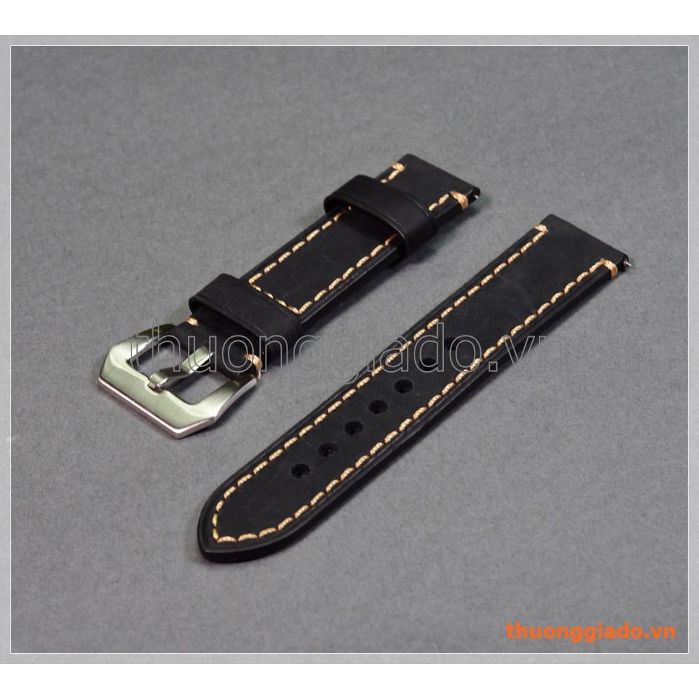Dây đồng hồ Samsung Gear S3 Classic/ Frontier (22mm, da bò, mẫu 8 chỉ viền vàng) - 3381827 , 1316776234 , 322_1316776234 , 280000 , Day-dong-ho-Samsung-Gear-S3-Classic-Frontier-22mm-da-bo-mau-8-chi-vien-vang-322_1316776234 , shopee.vn , Dây đồng hồ Samsung Gear S3 Classic/ Frontier (22mm, da bò, mẫu 8 chỉ viền vàng)