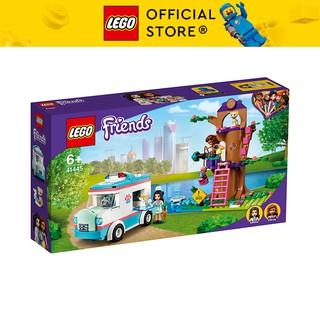 LEGO FRIENDS 41445 Xe Khám Thú Cưng Di Động ( 304 Chi tiết) Đồ chơi giáo dục lắp ráp cho bé gái