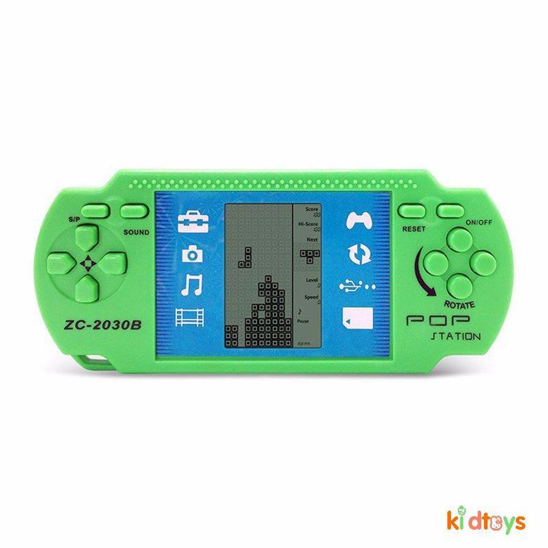 Máy Chơi Game Xếp Gạch Cầm Tay Màn Hình LCD Dành Cho Bé