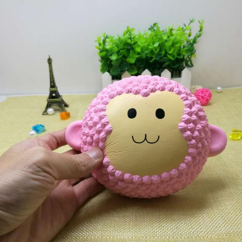 BOBORA PU Slow Rebound Squishy Monkey Pressure Stress Relief Decompression Toys