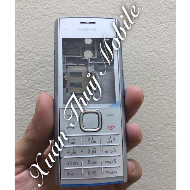 Vỏ Nokia X2-00 full bộ trắng / đen đỏ