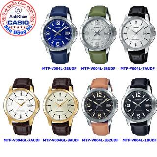 Đồng hồ nam Casio MTP-V004 MTP-V004L MTP-V004GL bảo hành 1 năm chính hãng Anh Khuê thumbnail