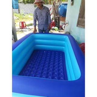 [ SALE ] bể bơi 2m1 to rộng dày đẹp cho bé yêu