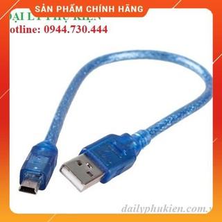 [Mã ELORDER5 giảm 10K đơn 20K] Cáp Mini USB Sang USB dailyphukien