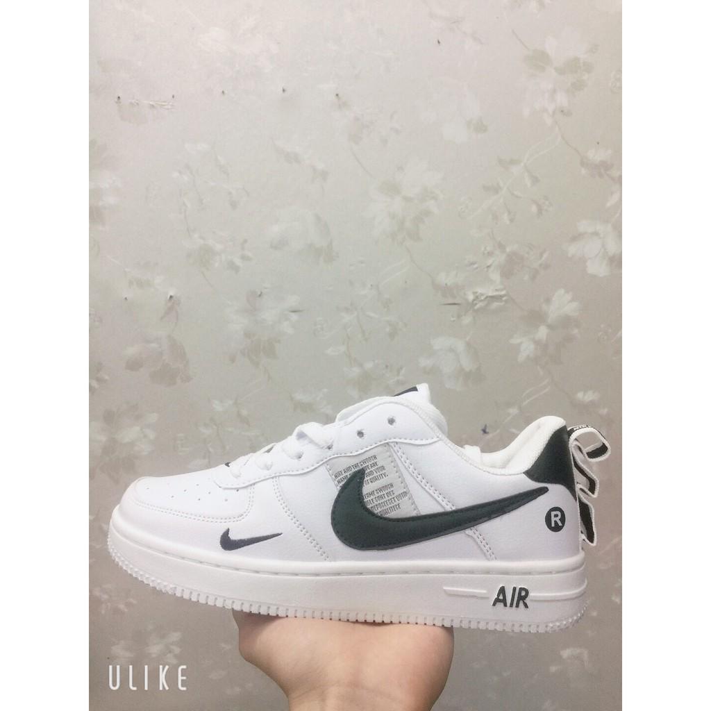 Giày nike móc đen trắng mới nam nữ ( ảnh thật + có sẵn )
