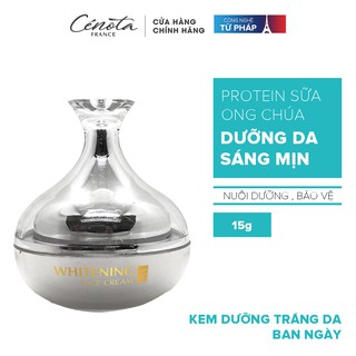 Kem dưỡng trắng da Whitening Cream Cenota 15g, kem dưỡng trắng da ban ngày và đêm thumbnail