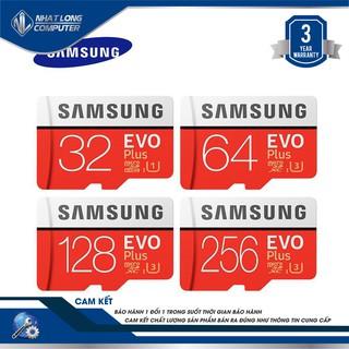 Thẻ nhớ micro SD hiệu Samsung với dung lượng 32GB/64GB/128Gb/256Gb chính hãng