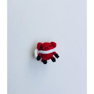 Thú len- Bé heo handmade- bellascrochet_corner