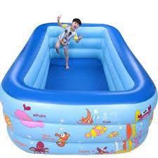 Bể Bơi SIÊU TO KHỔNG LỒ 2M1